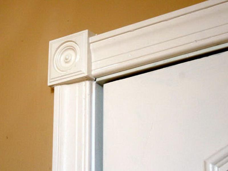 Trimming Interior Doors How To Make A Flat Door Into A Panel Door